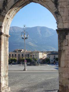 Sulmona - Piazza Garibaldi