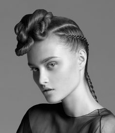 Hair by #SachaMascoloTarbuck for the #2009 #ToniAndGuy Look Book