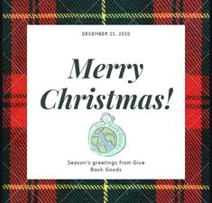 @givebackgoods posted to Instagram: Merry Christmas from Give Back Goods! . . Shop sustainable New Year's gifts at GiveBackGoods.com (link in bio, shipping is always included). . . #GiveBackGoods #GiveBack #gogreen #ecofriendly #zerowaste #sustainability #sustainable #eco #nature #environment #green #gogreen #savetheplanet #fairtrade #handmade #organic #climatechange #fightclimatechange #earth #bethechange #recycle #reuse #reducewaste International Holidays, Reduce Waste, December 25, Giving Back, New Year Gifts, Save The Planet, Climate Change, Reuse, Sustainability