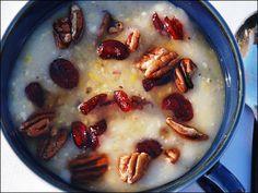 cranberry nasamp, a Wampanaog recipe