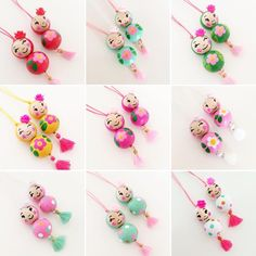 Cute Crafts, Diy Crafts To Sell, Crafts For Kids, Wood Peg Dolls, Clothespin Dolls, Spool Crafts, Yarn Dolls, Pom Pom Crafts, Clothes Pegs