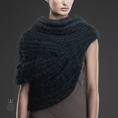 """Capitol Contributor: Maria Dora Making knitwear """"functional"""" and """"sentimental."""" Everyone understands the appeal of the perfect sweater and its soft, maternal embrace—especially Los Angeles-based designer Maria Dora. """"Knitwear is a very personal thing,"""" she says of her own vocation to construct unique silhouettes from wools, braided yarn and materials like leather, plastic and even metal. Dora, who apprenticed with masters of macramé Ohne Titel and with JC Obando, also creates delicate…"""