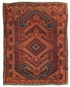Bergama    Size: 6'4'' x 7'7''    Region: Turkey    Made: circa 1880