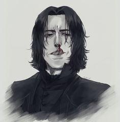 ジル (@jill_s_alg) / Twitter Professor Severus Snape, Cute Characters, Fictional Characters, Free Mind, Soft Wallpaper, Alan Rickman, Fanart, History, Twitter