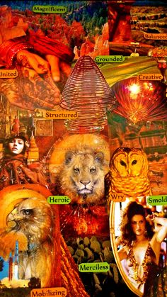 On this Essence Board all the colors are warm, firey, with lots of complexity and texture.