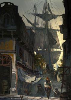 Assassin's Creed IV: Black Flag - Concept Art » Games