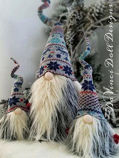 Scandinavian Gnome Tomte Nisse Santa Elf by DaVinciDollDesigns