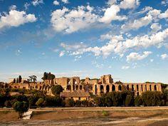 Roma - Vista del Palatino y del Circo Máximo / Foto de Silvia Adalia