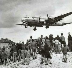 The Berlin Airlift. It brought hope to many West Berliners who were trapped during the Berlin Blockade, and were endanger of starvation.