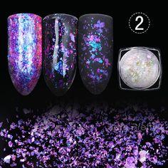 $4.59 0.5g 1g BORN PRETTY Transparent Chameleon Nail Sequins Paillette Manicure Nail Art Decoration #2 - BornPrettyStore.com. Use my 10% off code PQL91. ( not valid on sale items)