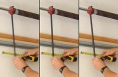 Test fit bars in torsion springs' winding cones before loosening set screws.