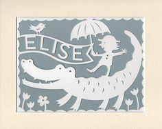 Childrens personalized papercut bunny rabbit house nursery wall childrens personalized papercut bunny rabbit house nursery wall art nursery decor baby gift woodland bunny woodland nursery decor bunny rabbit negle Gallery