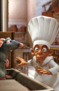 Ratatouille, seeing Remy