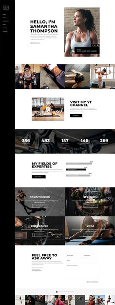 Build your new online presentation the powerful way with Powerlift, a WordPress theme packed with all the elements a modern gym or personal trainer website can ever need. Get a site in perfect shape, it's time to Powerlift! Layout Design, Website Design Layout, Web Layout, Homepage Design, Web Design Trends, Design Sites, Design Web, Game Design, Modern Design