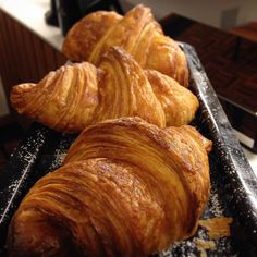 Fresh croissants every day @rough_diamond_coffee Painstakingly layered and proved. Hot from the oven from 7am. #croissant #pastry #pastryheaven #pastrykitchen #roughdiamond #warrnambool #warrnamboolcafe #warrnamboollunch #warrnamboolcoffee #Warrnamboolbreakfast #eat3280 by rough_diamond_coffee