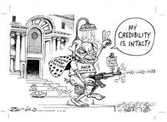 Zapiro:  Zuma : 'My credibility intact'