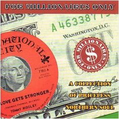 FOR MILLIONAIRES ONLY VOLUME 1 - VARIOUS ARTISTS RARE NORTHERN SOUL (GOLDMINE)