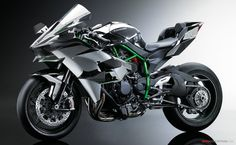 Kawasaki Ninja H2R I want this now my 11' 10R looks like a bish next to it
