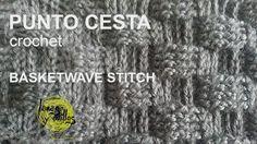 Tutorial Punto Cesta Crochet (Basketwave stitch)