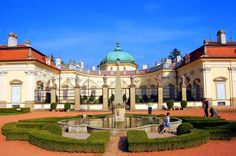Zámek Buchlovice, Czech Republic Prague, Travel Around The World, Around The Worlds, Royal Residence, Fairytale Castle, The Great Escape, Florida Usa, Beautiful Places In The World, Eastern Europe