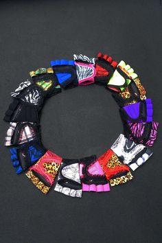 A pinwheel of exciting workout gloves for women! $45