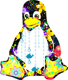 TUX POP by Alejandra Schiavoni - MKT para CLA Instituto Linux - para material Carrera Linux