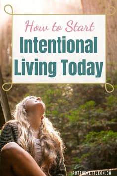 What exactly is intentional living? Find out how this simple act of mindfulness can help you discover a life of purpose. Living with intention helps you have positive thoughts and creates balance and happiness in all aspects of our daily life. Mind Reading Tricks, Mindful Living, Slow Living, Sober Living, Self Development, Personal Development, Positive Thoughts, Quotes Positive, Quotes To Live By