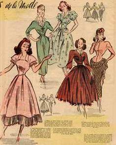 #1940s #fashion #sewing