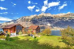 Walensee, Switzerland jigsaw puzzle in Great Sightings puzzles on TheJigsawPuzzles.com