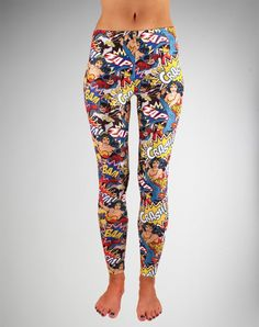 DC Comics ladies leggings (Wonder Woman, Batgirl, Supergirl)