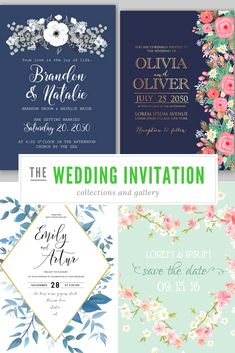 Gorgeous Wedding Invitation Designs - View Our Wedding Invitation Gallery Then Obtain Your Wedding Invitation Idea Instantly!