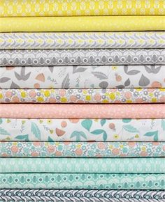Elizabeth Olwen for Cloud9, Grey Abbey ENTIRE COLLECTION in FAT QUARTERS 12 Total