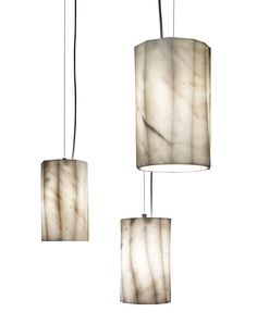 Fiamma Suspension lamp design by Raffaello Galiotto Marmi Serafini