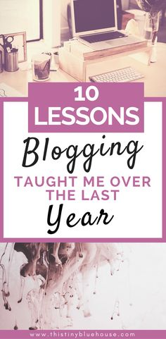 10 lessons blogging taught me with BONUS tips for new bloggers #blogging #bloggingtips #sidehustle #momblogger #frugallivingblogger