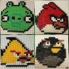 Angry Birds Hama beads