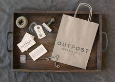 Outpost General Store Branding