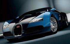 Bugatti EB-164 Veyron Blue HD Widescreen Exotic Car Wallpapers
