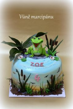 Happy frog - Cake by vunemarcipanu