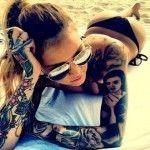 Magnifique Tatouage Bras Complet Femme