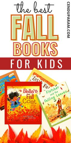 Find the best fall books for kids. Autumn themed books for all ages. Whether you need fall books for kindergarten, preschool or elementary school, you'll find something you love from this teacher approved fall reading list. The perfect cozy fall books to celebrate the beauty of autumn. Plus these also have free printable fall activities to try!