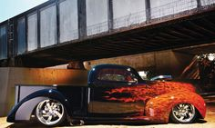 1940 Ford pickup..Re-pin...Brought to you by #HouseofInsurance for #CarInsurance #EugeneOregon.