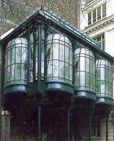 architecture art nouveau Discover more information on greenhouse architecture modern. Browse through our web site. Architecture Design, Architecture Art Nouveau, Beautiful Architecture, Beautiful Buildings, Beautiful Places, Paris Architecture, Art Deco, Magic Places, Victorian Greenhouses