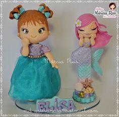 Elsa, Cinderella, Disney Characters, Fictional Characters, Disney Princess, Personalized Cakes, Mermaid, Meet, Bebe