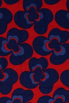 Textiles, Textile Patterns, Cool Patterns, Vintage Patterns, Flower Patterns, Print Patterns, Retro Fabric, Vintage Fabrics, Folk Art Flowers