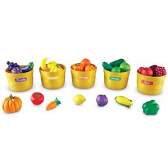 Farmer's Market Color Sorting Set-Shapes & Colors-Early Childhood-Category - Learning Resources®