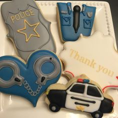 Cake Decorating Store Shelby Twp Mi : 1000+ images about cookies for cops on Pinterest Police cars, Police badges and Police