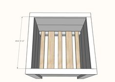 Easy Build DIY Planter Box | Ana White Planter Box Plans, Diy Planter Box, Diy Planters, Tiered Planter, Cedar Fence Pickets, Window Planters, Outdoor Furniture Plans, Woodworking Projects Diy, Diy Box