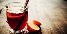 3 holiday cocktails that will knock your stockings off: Cool Red Apple, Glühwein, Chilled Mulled Riesling