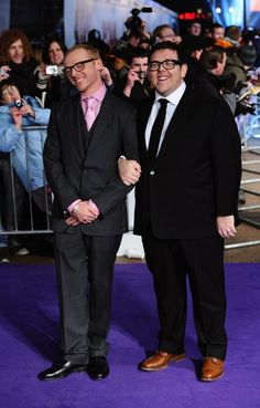 Nick Frost and Simon Pegg at event of Paul