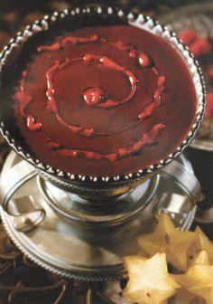 dark chocolate raspberry fondue recipe more dark chocolate fondue ...